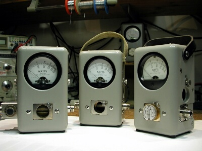 เครื่องวัดสายอากาศ BIRD, Bird 43 Watt Meter, Elements