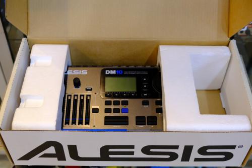Alesis DM10 Drum Module 12 Trig โมดูลกลองทริกรุ่นล่าสุด ใหม่เอี่ยม กล่องครบ 3