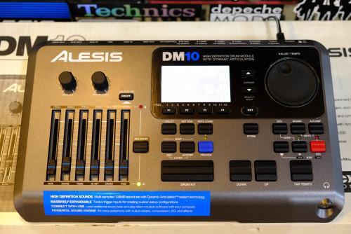Alesis DM10 Drum Module 12 Trig โมดูลกลองทริกรุ่นล่าสุด ใหม่เอี่ยม กล่องครบ 4