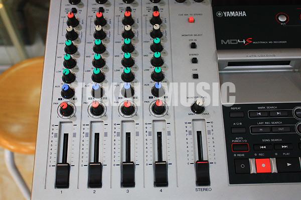 YAMAHA MD4S Multitrack MD Recorder เล่น/อัดบันทึกเสียงแผ่นMD ทั้งแบบธรรมดาและมัลติแทร็คJAPAN 4