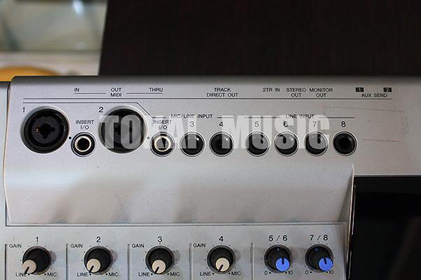 YAMAHA MD4S Multitrack MD Recorder เล่น/อัดบันทึกเสียงแผ่นMD ทั้งแบบธรรมดาและมัลติแทร็คJAPAN 6