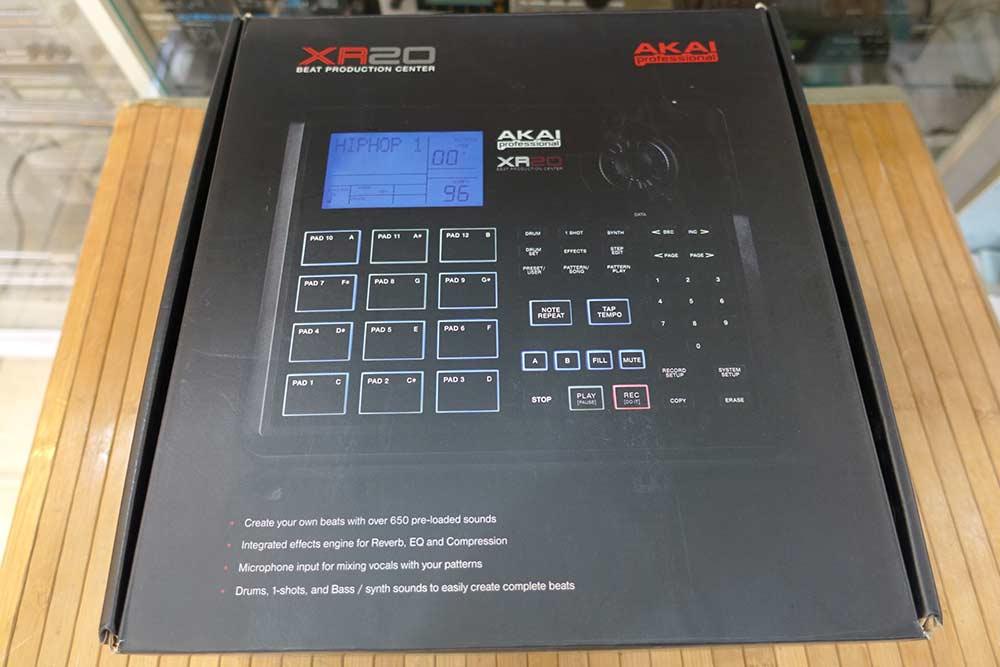 AKAI XR20 Beat Production Center เสียงริทึ่มบอกซ์กลองที่ถูกใช้ในเพลงHipHop RnB ที่คุ้นหู เสียงเทพมาก 7