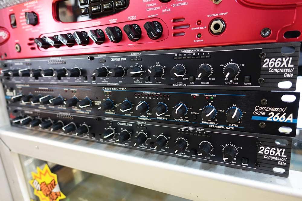 dbx 266XL Compressor Gate คอมเพรสเซ่อร์กระชับเสียงร้อง/ป้องกันการกระชากของเสียง