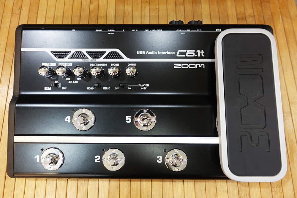 ZOOM C5.1t USB Audio Interface
