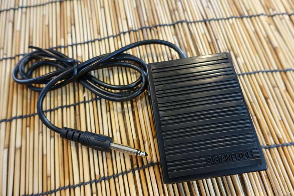 Sustain Pedal  Foot Switch ยืดเสียง สตาร์ทสต๊อป ฟิลอินกลอง กระเดื่อง สแนร์ ได้หมด
