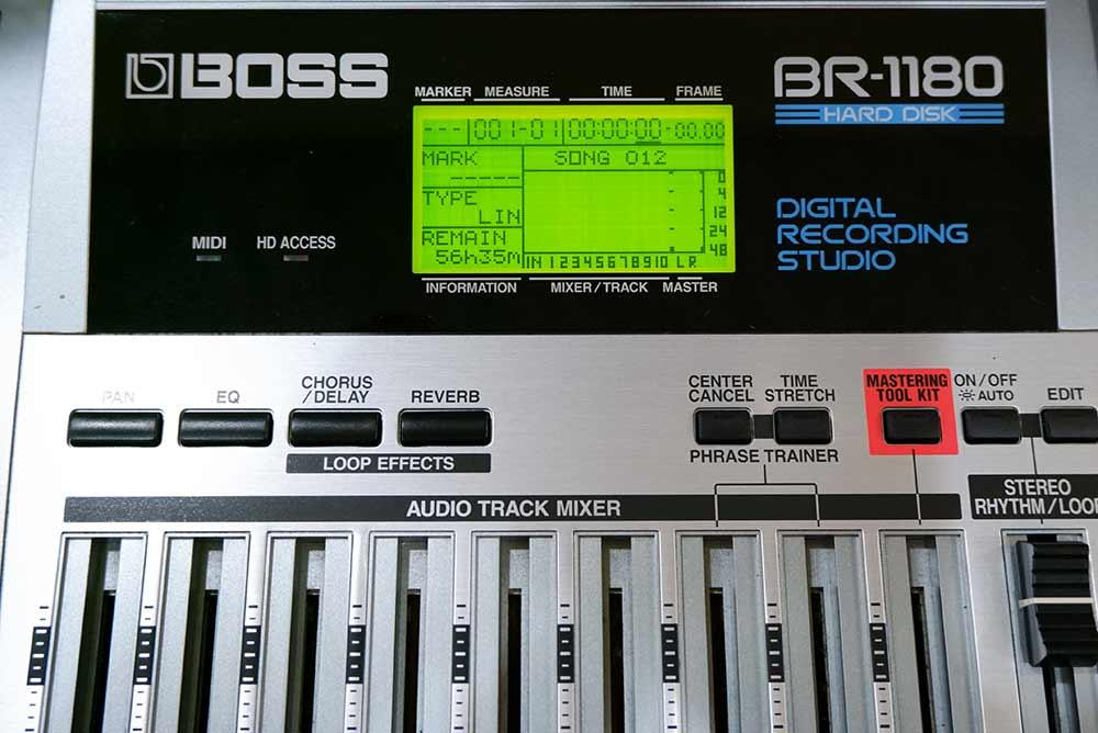 BOSS BR-1180 Digital Recording Studio 10แทร็ค HDD20GB และ CD-RWในตัว ไรท์แผ่นเล่นแผ่นได้ ยังใหม่เอี่ 2