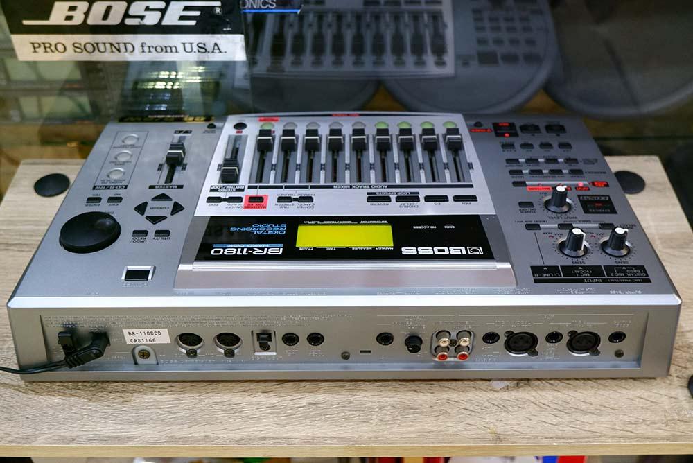 BOSS BR-1180 Digital Recording Studio 10แทร็ค HDD20GB และ CD-RWในตัว ไรท์แผ่นเล่นแผ่นได้ ยังใหม่เอี่ 7