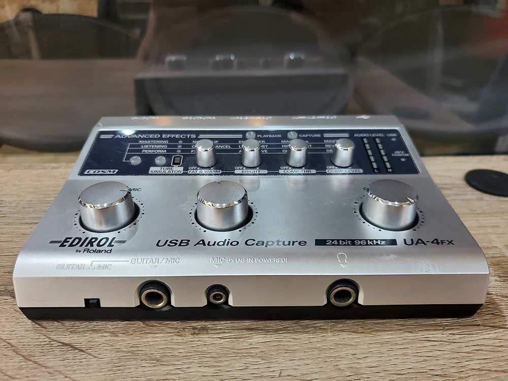 EDIROL UA-4FX USB Audio Capture 24bit 96kHz 1