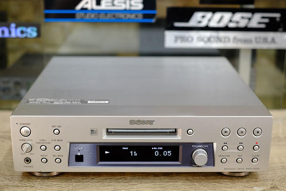 SONY MDS-S500 รุ่นล่าสุดจากsony เล่นได้ทั้งMDLP2/LP4 Net MD /IMPORT JAPAN