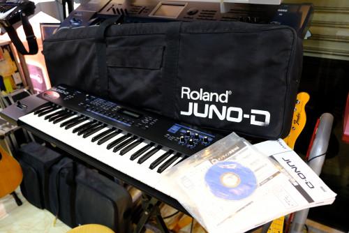 JUNO-D Limited Edition (MADE IN JAPAN) อัพเกรดเพิ่มเสียงใหม่อีก 66 เสียงจากรุ่นปกติ พร้อมกระเป๋าJUNO 1