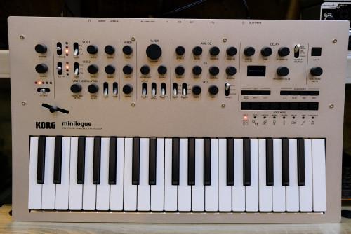 KORG Minilogue Polyphonic Analog Synthesizer ใหม่เอี่ยมกล่องครบ