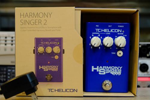 TC Helicon Harmony Singer 2 เอฟเฟคเสียงประสาน ใหม่เอี่ยม กล่อง อะแด๊ปเตอร์ครบ
