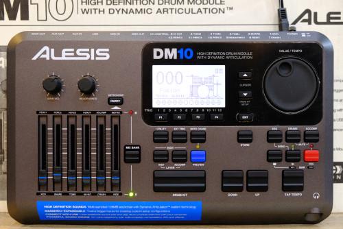 Alesis DM10 Drum Module 12 Trig โมดูลกลองทริกรุ่นล่าสุด ใหม่เอี่ยม กล่องครบ