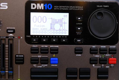 Alesis DM10 Drum Module 12 Trig โมดูลกลองทริกรุ่นล่าสุด ใหม่เอี่ยม กล่องครบ 1