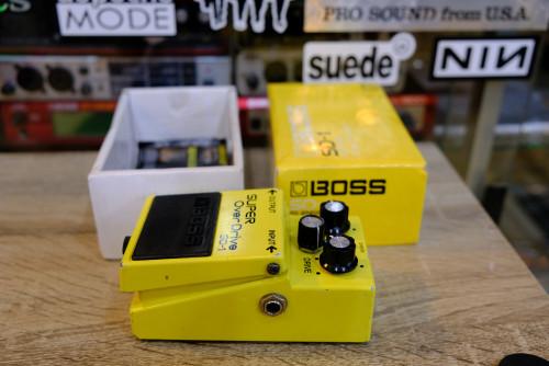 BOSS SD-1 Super Overdrive ยังใหม่ กล่องครบ