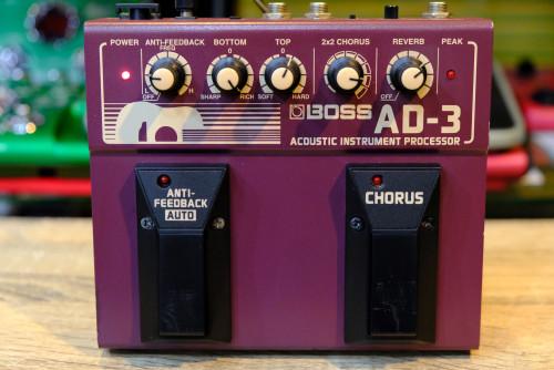 BOSS AD-3 Acoustic เอฟเฟคกีต้าร์โปร่ง