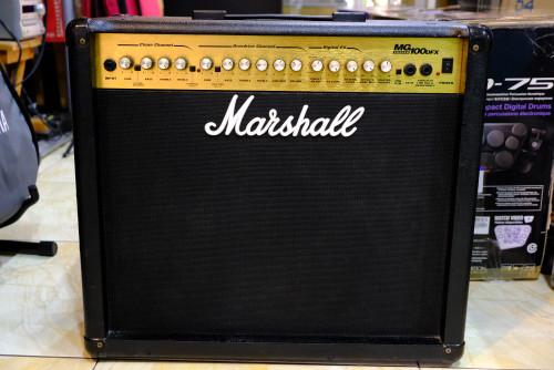Marshall MG100DFX 100วัตน์ สภาพสวย ดอกแท้MADE IN USA มี Overdive,Delay,Chorus,Flanger,Reverb ในตัว