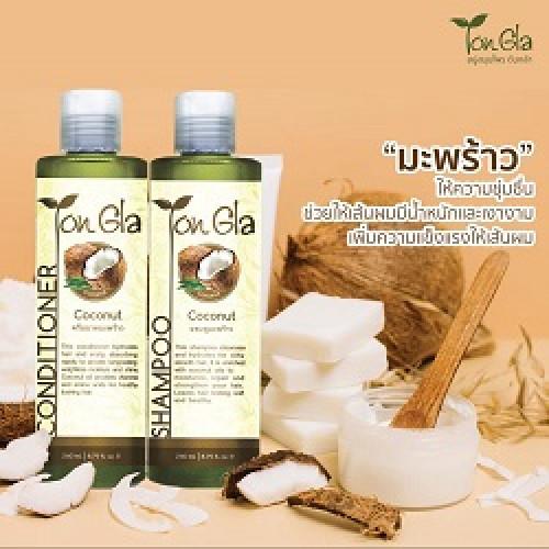 แชมพูมะพร้าว Coconut Shampoo ขนาด 260 ml