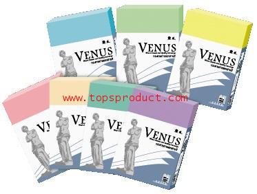 กระดาษถ่ายเอกสารสี VENUS