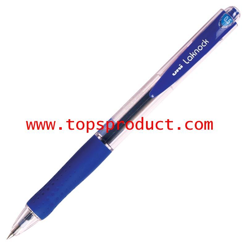 ปากกาลูกลื่น 0.5 มม. น้ำเงิน ยูนิ Laknock SN-100
