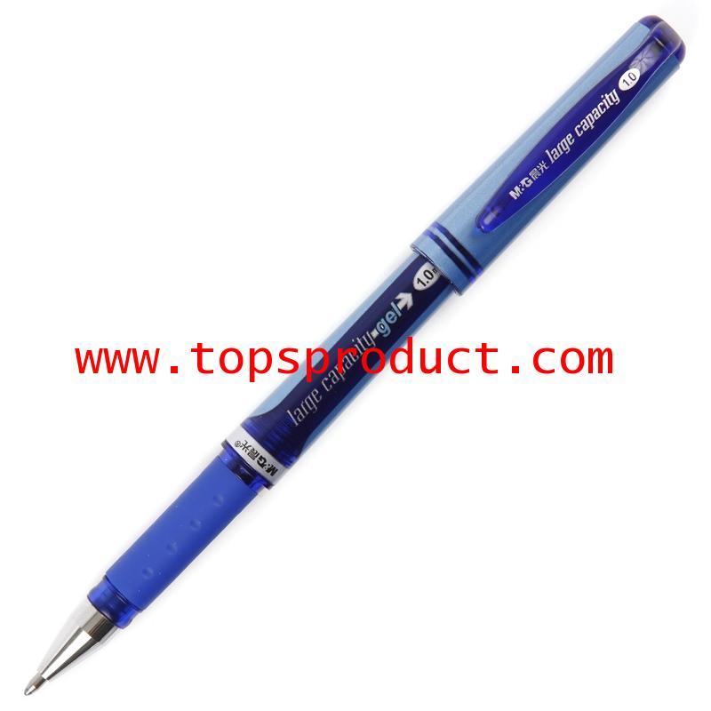 ปากกาหมึกเจล 1 มม. น้ำเงิน MG AGP-13604