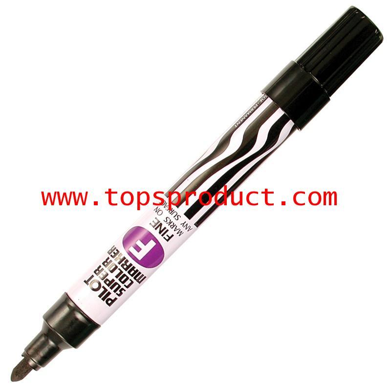 ปากกามาร์คเกอร์ หัวกลม ดำ ไพล็อต SC-F