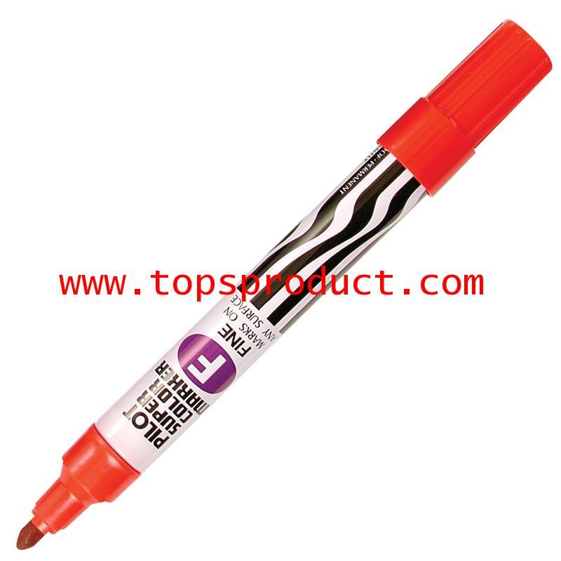 ปากกามาร์คเกอร์ หัวกลม แดง ไพล็อต SC-F