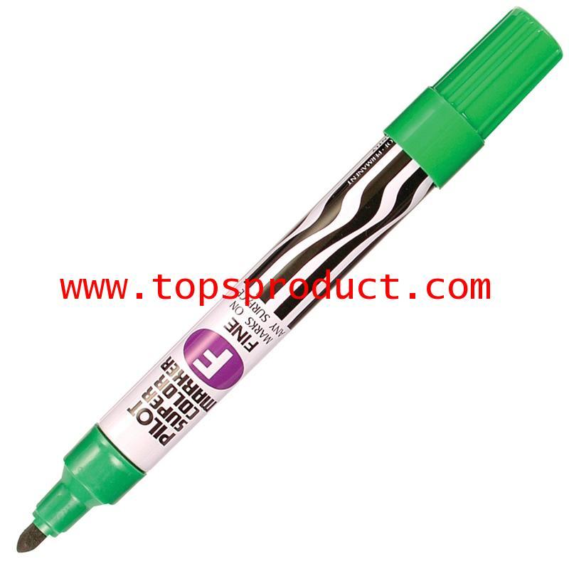 ปากกามาร์คเกอร์ หัวกลม เขียว ไพล็อต SC-F