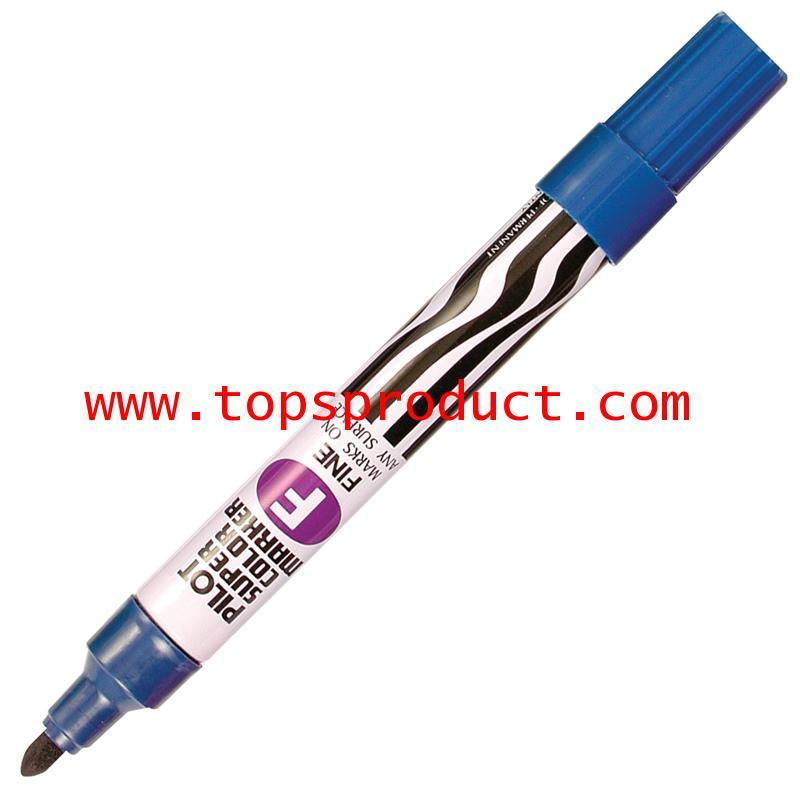 ปากกามาร์คเกอร์ หัวกลม น้ำเงิน ไพล็อต SC-F