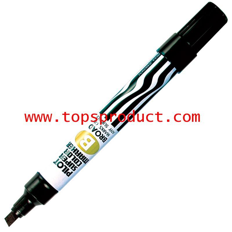ปากกามาร์คเกอร์ หัวตัด ดำ ไพล็อต SC-B