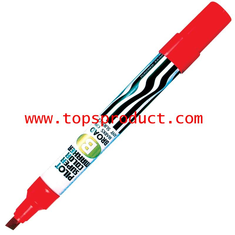 ปากกามาร์คเกอร์ หัวตัด แดง ไพล็อต SC-B
