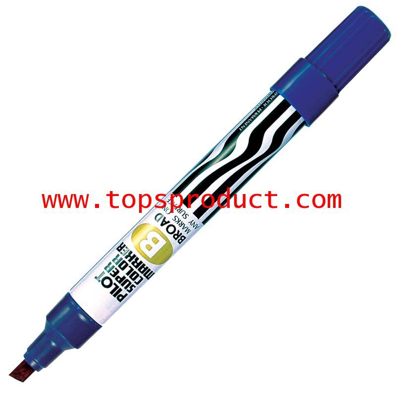ปากกามาร์คเกอร์ หัวตัด น้ำเงิน ไพล็อต SC-B
