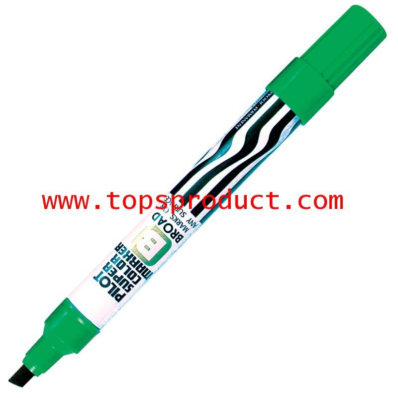 ปากกามาร์คเกอร์ หัวตัด เขียว ไพล็อต SC-B