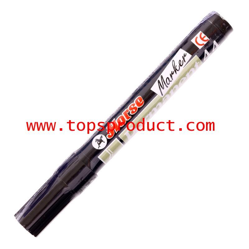 ปากกามาร์คเกอร์ ดำ ตราม้า H-44