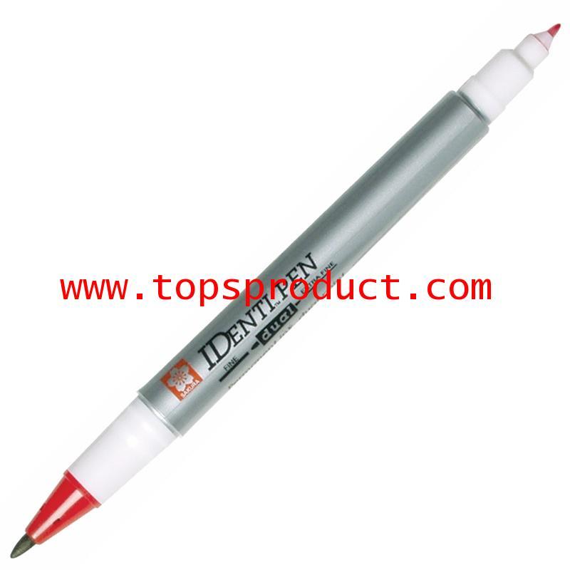 ปากกามาร์คเกอร์ 2 หัว แดง 44103 ซากุระ XYK-T