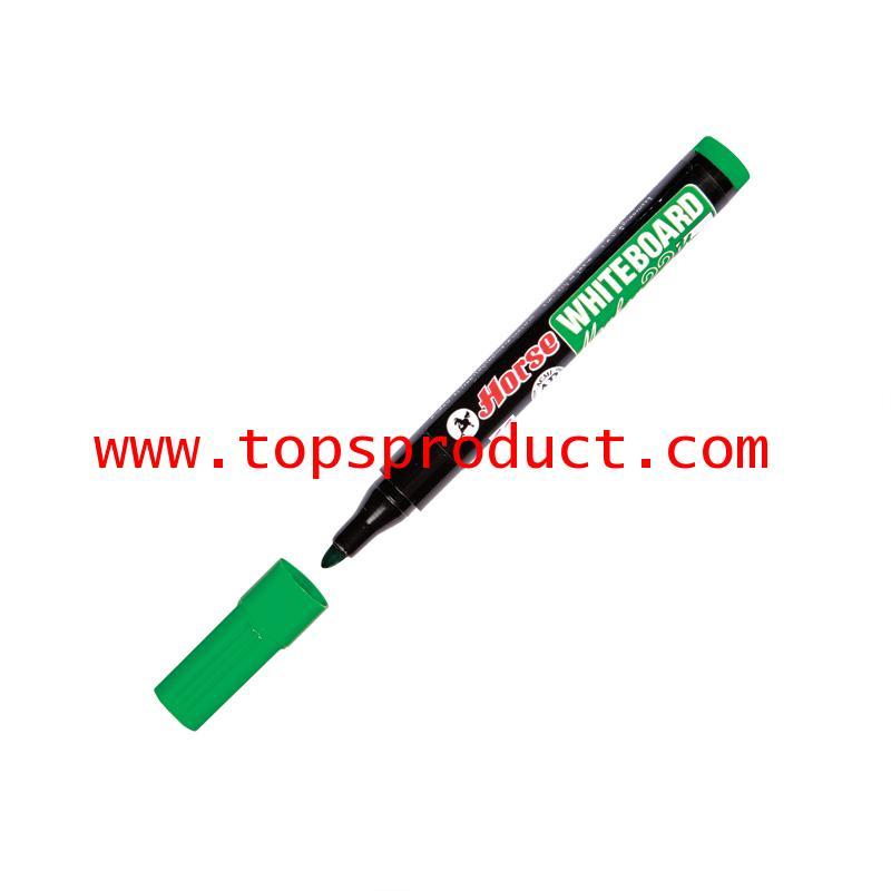 ปากกาไวท์บอร์ด 2 มม. เขียว ตราม้า H-22
