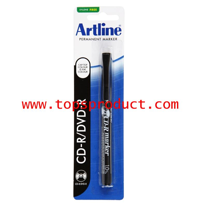 ปากกาเขียนแผ่นซีดี 1.0 มม. ดำ อาร์ทไลน์ EK-884