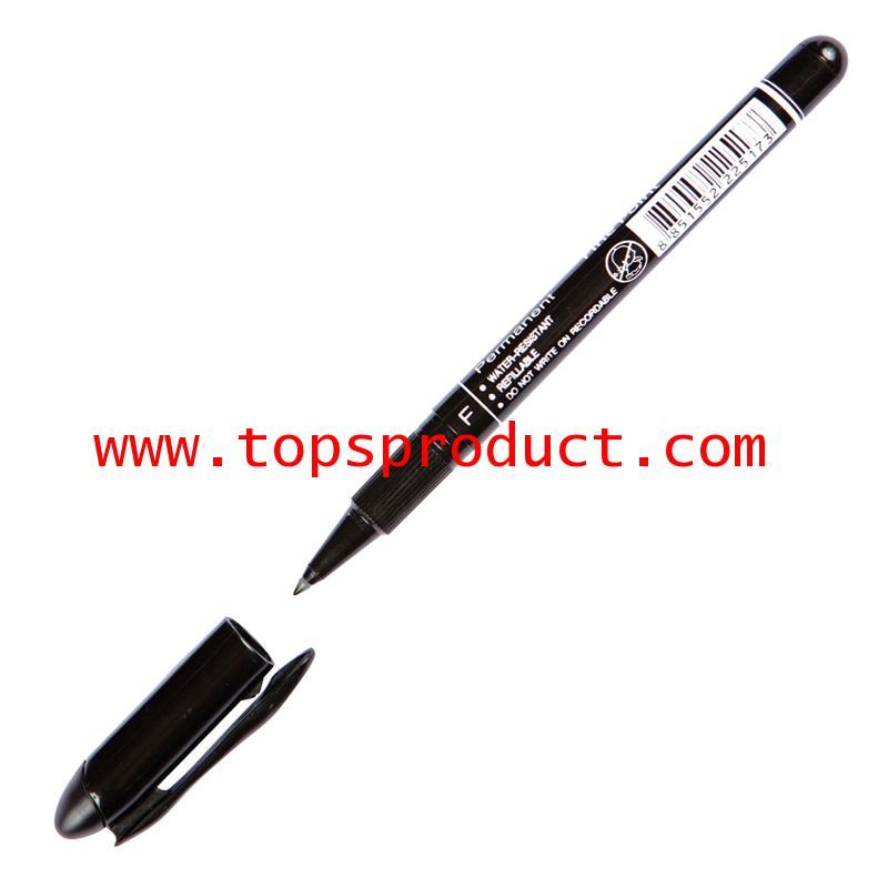 ปากกาเขียนแผ่นซีดีลบไม่ได้ 0.6 มม. ดำ F ตราม้า H-52F