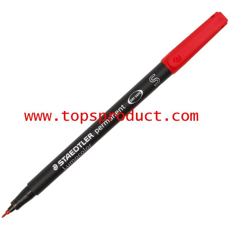 ปากกาเขียนแผ่นใสลบไม่ได้ (S) 0.4 มม.ดำ สเต็ดเล่อร์ 313-9