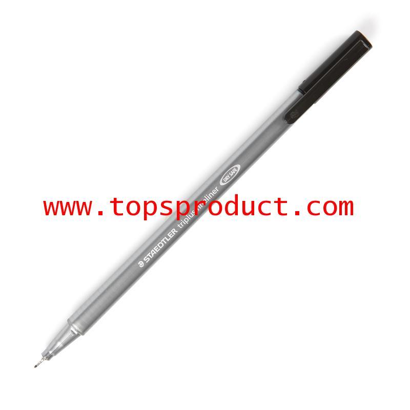 ปากกาหัวเข็ม 0.3 มม. ดำ 334-9 สเต็ดเล่อร์ TRIPLUS