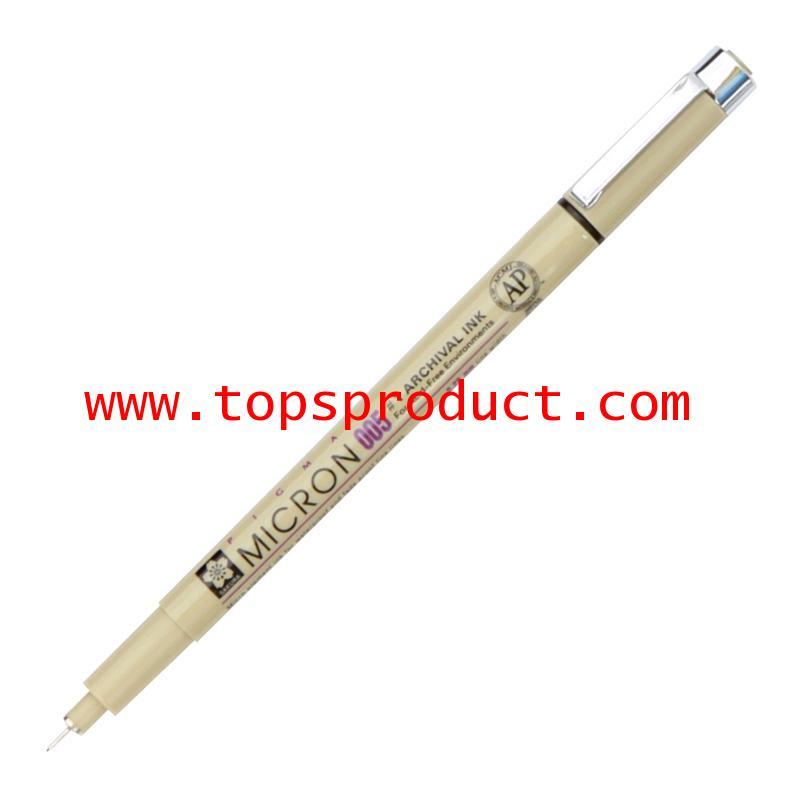 ปากกาหัวเข็ม 0.05 มม. ดำ พิกม่า XSDK