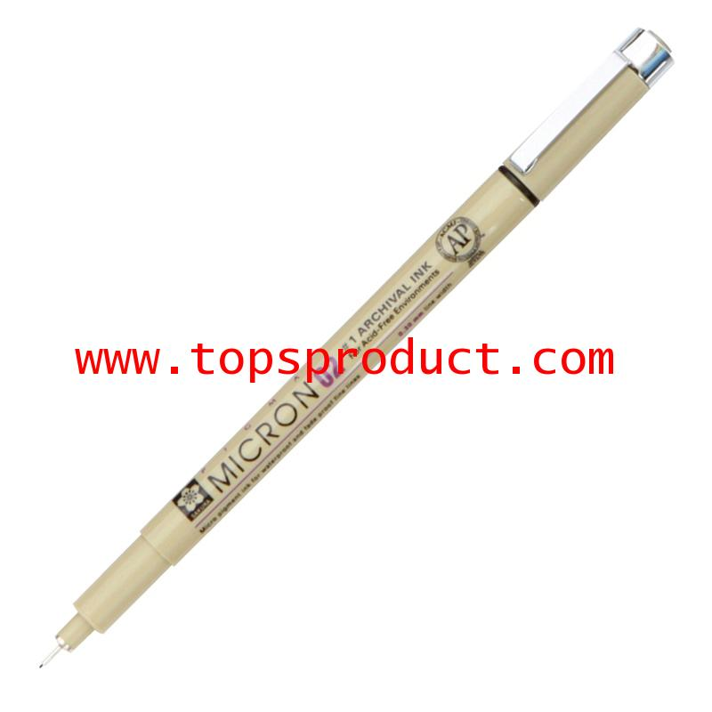 ปากกาหัวเข็ม 0.2 มม. ดำ พิกม่า XSDK