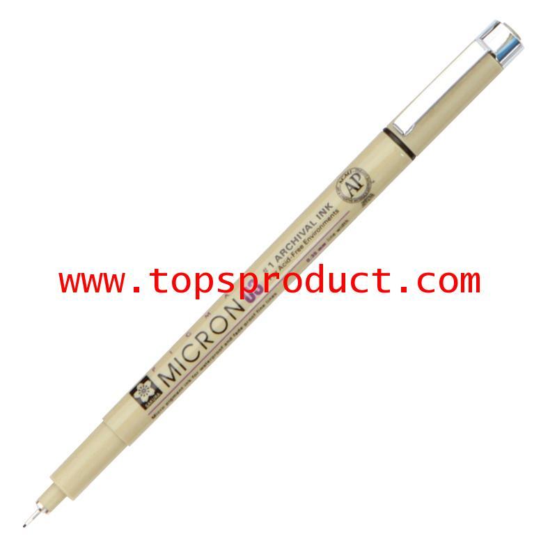 ปากกาหัวเข็ม 0.3 มม. ดำ พิกม่า XSDK