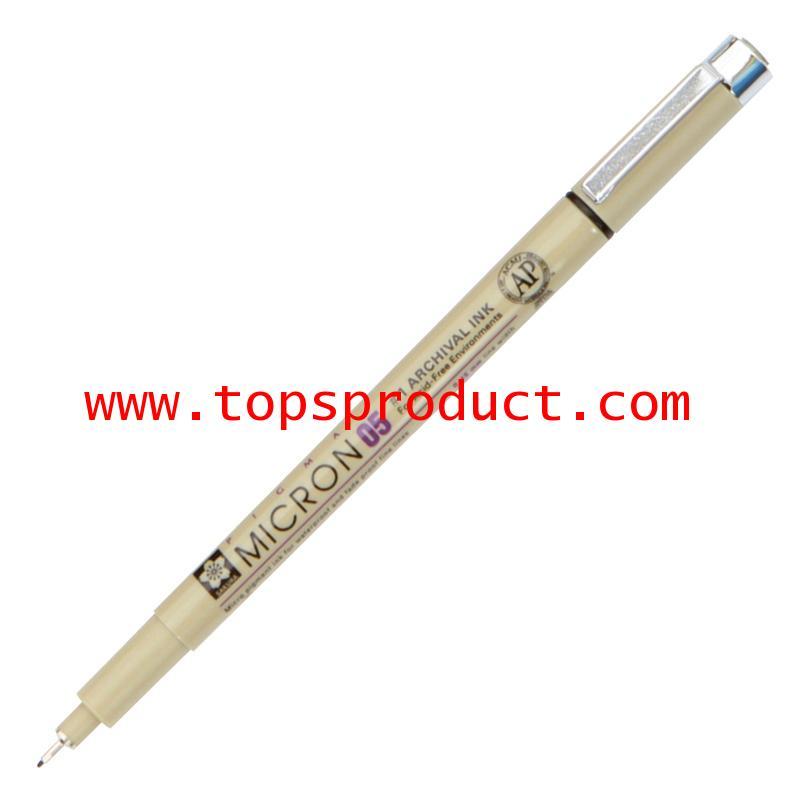 ปากกาหัวเข็ม 0.5 มม. ดำ พิกม่า XSDK05