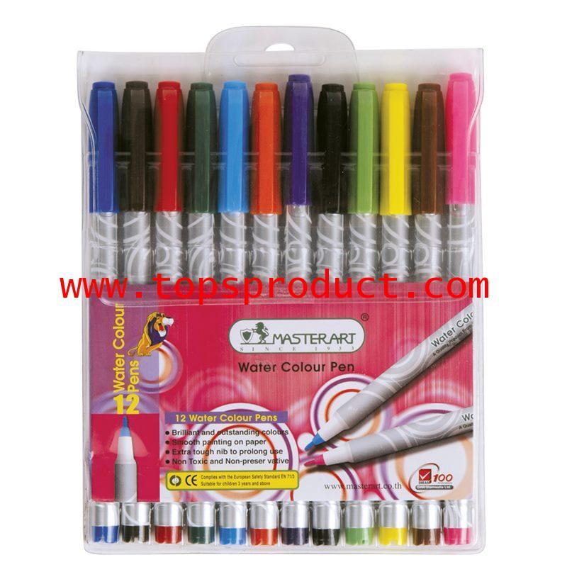 ปากกาเมจิก (ชุด12สี) มาสเตอร์อาร์ต