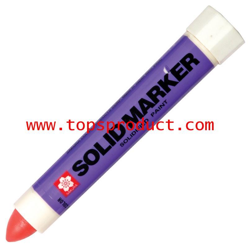 ปากกาโซลิคมาร์คเกอร์ แดง ซากุระ XSC