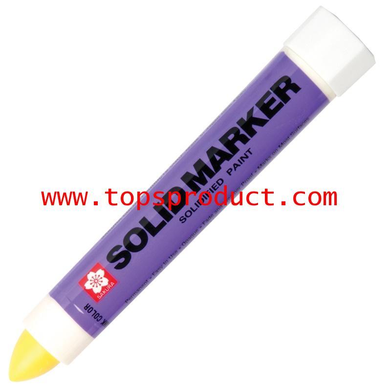ปากกาโซลิคมาร์คเกอร์ เหลือง ซากุระ XSC