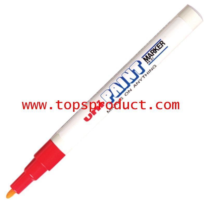 ปากกาเพ้นท์ 0.8-1.2 มม. แดง ยูนิ PX-21