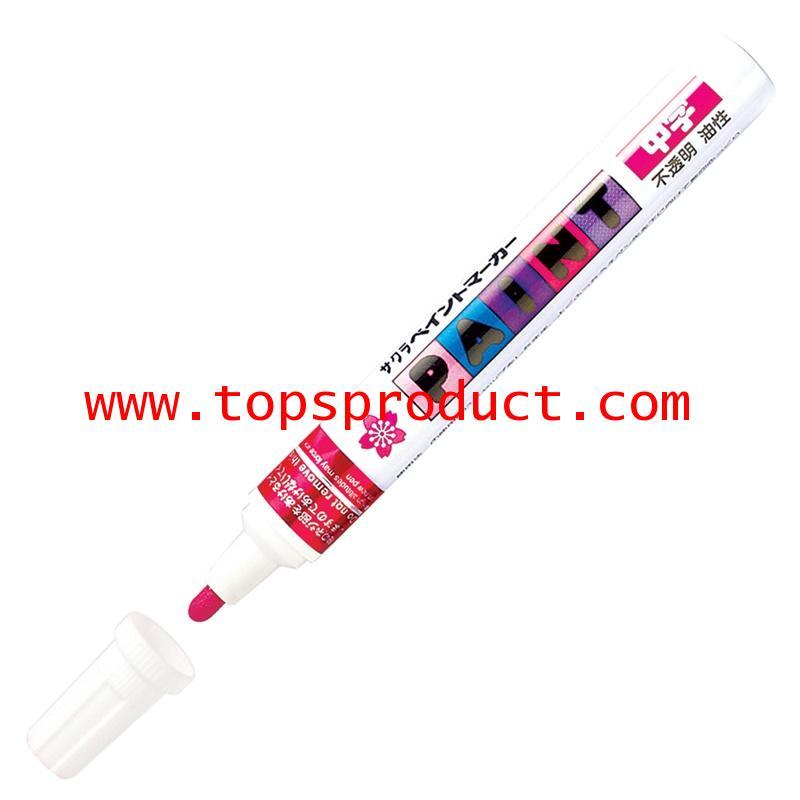 ปากกาเพ้นท์ 2 มม. แดง ซากุระ XPMK-B19