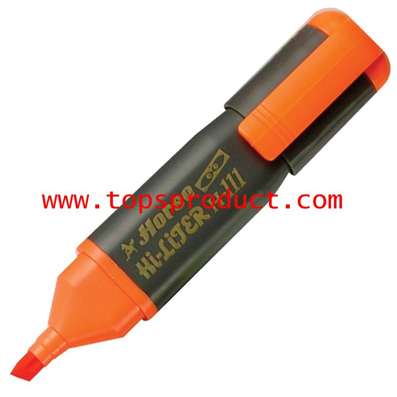 ปากกาเน้นข้อความ ส้ม ตราม้า H-111